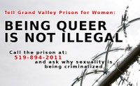 AW@L Radio - Criminalisation and Harassment of LGBTQ Prisoners in Kitchener's Federal Prison.