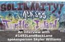 CKMS News - 2021-04-28 – An interview with 1492 LandBackLane spokesperson Skyler Williams