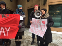 Press Release: Community members deliver holiday card to Waterloo MP calling for permanent status for Roblero Morales family